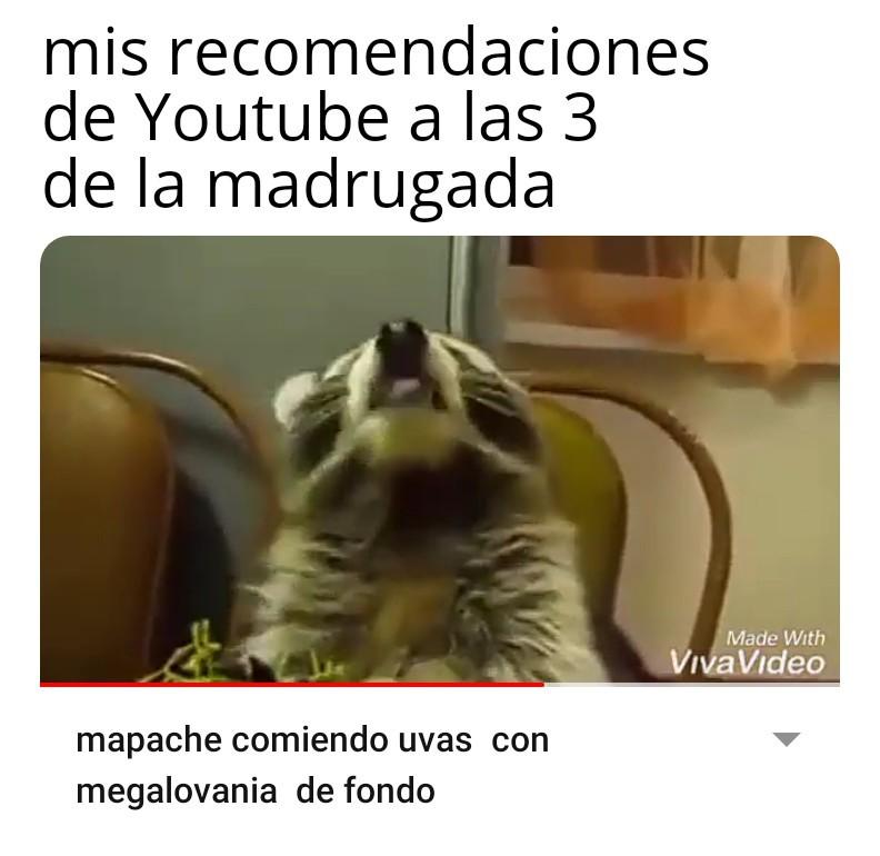Ese video no se subió a las 3 am - meme