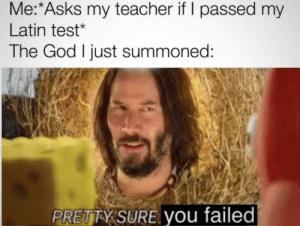 i wonder what god - meme