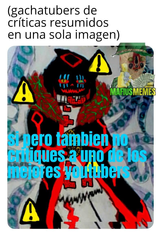 Virus 404 gachatuber - meme