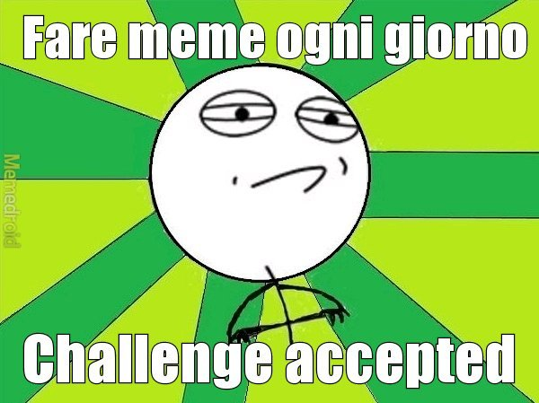 Io ho troppe idee - meme