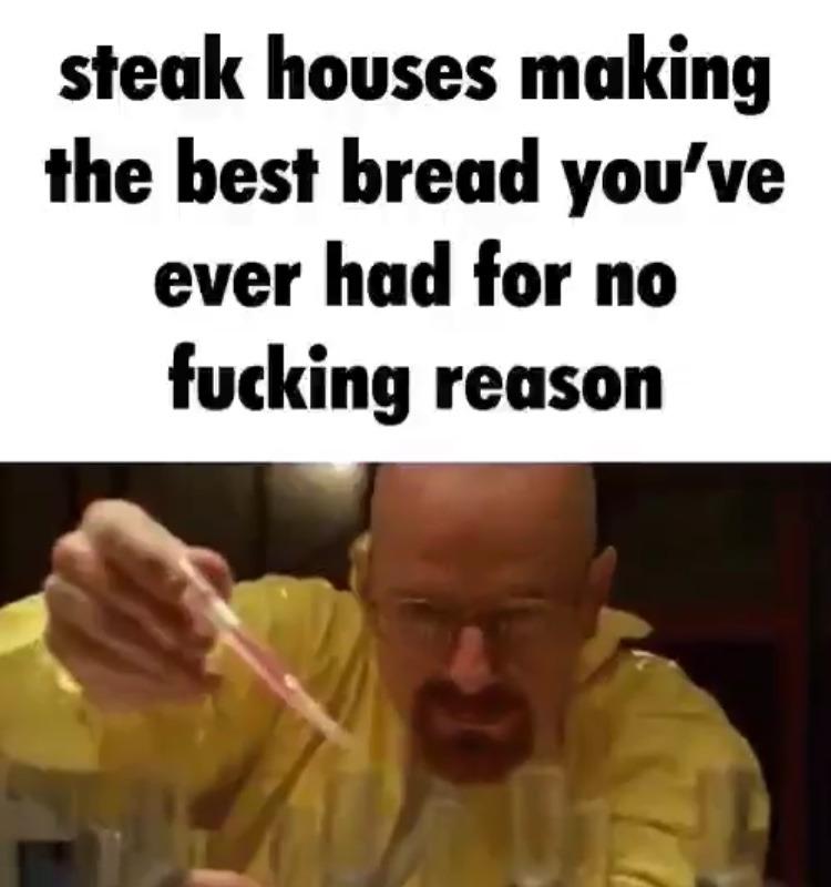 now I'm hungry - meme