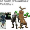 muito animado para guardioes da galaxia