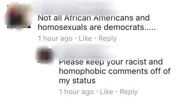 It was just a comment