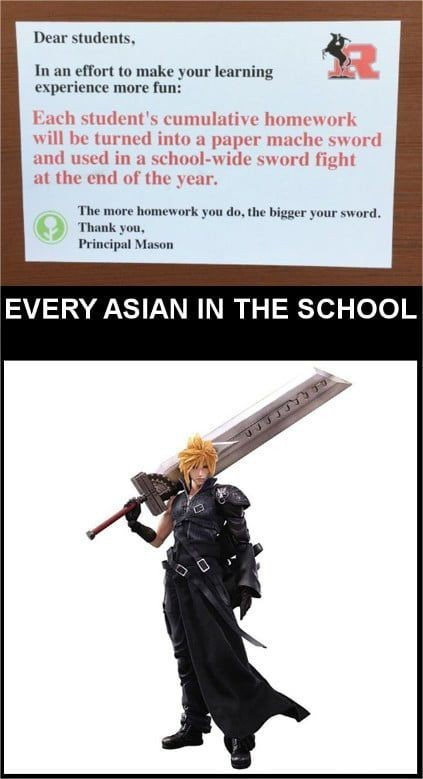 I'd want to go to this school - meme