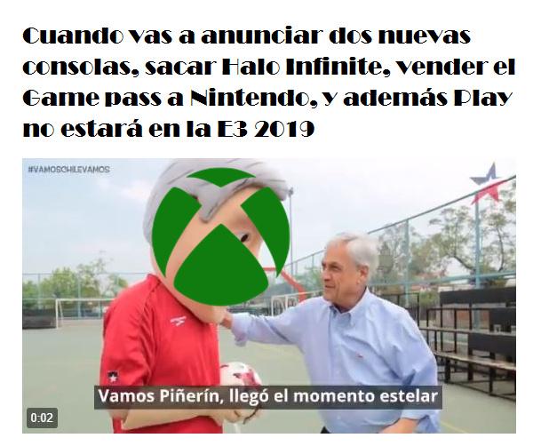 Vamos Xbox! - meme