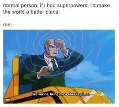 Fetcheth mine pizza - meme
