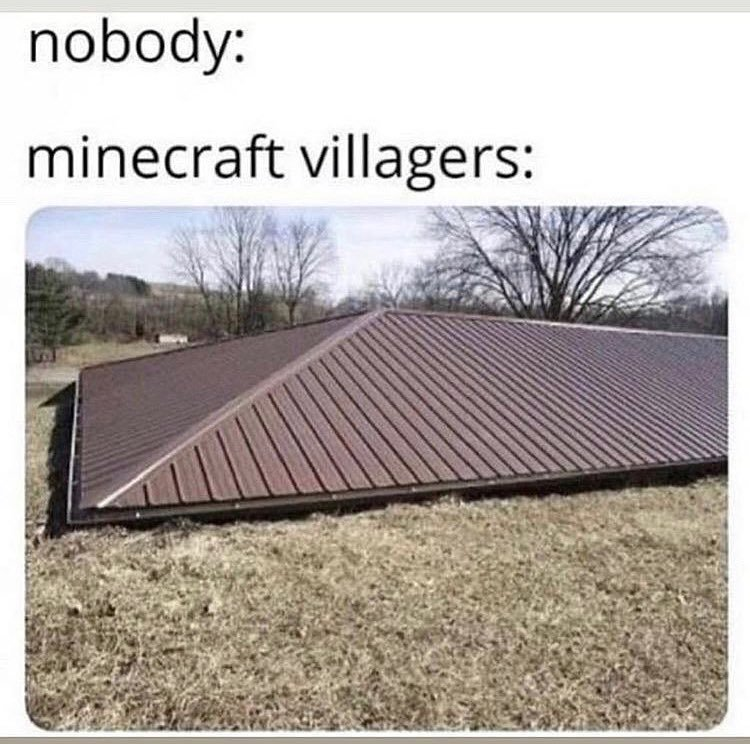 old minecraft - meme