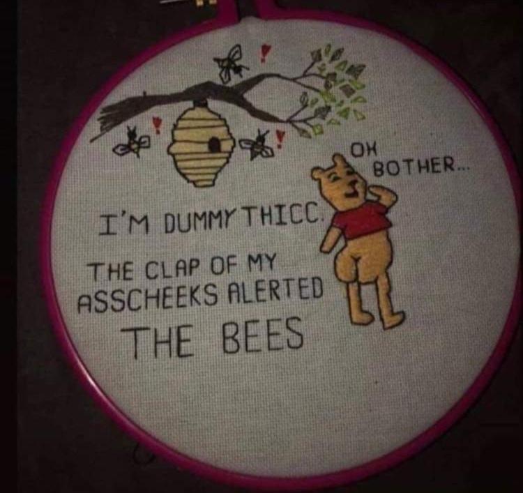 Pooh bear - meme