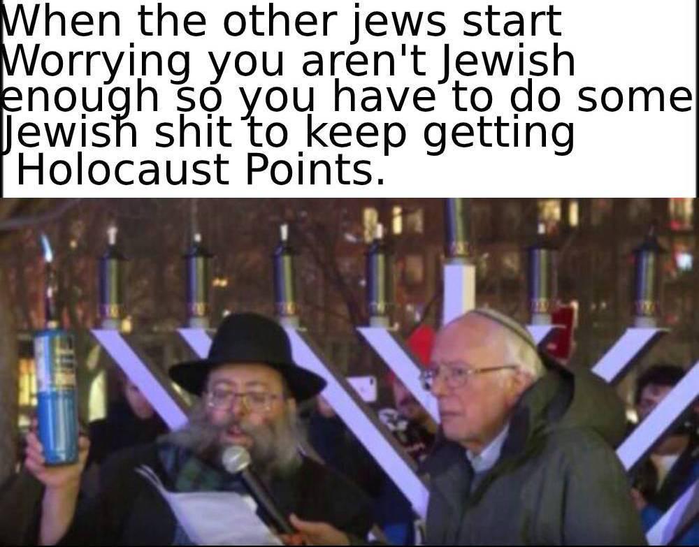 dongs in a jew - meme