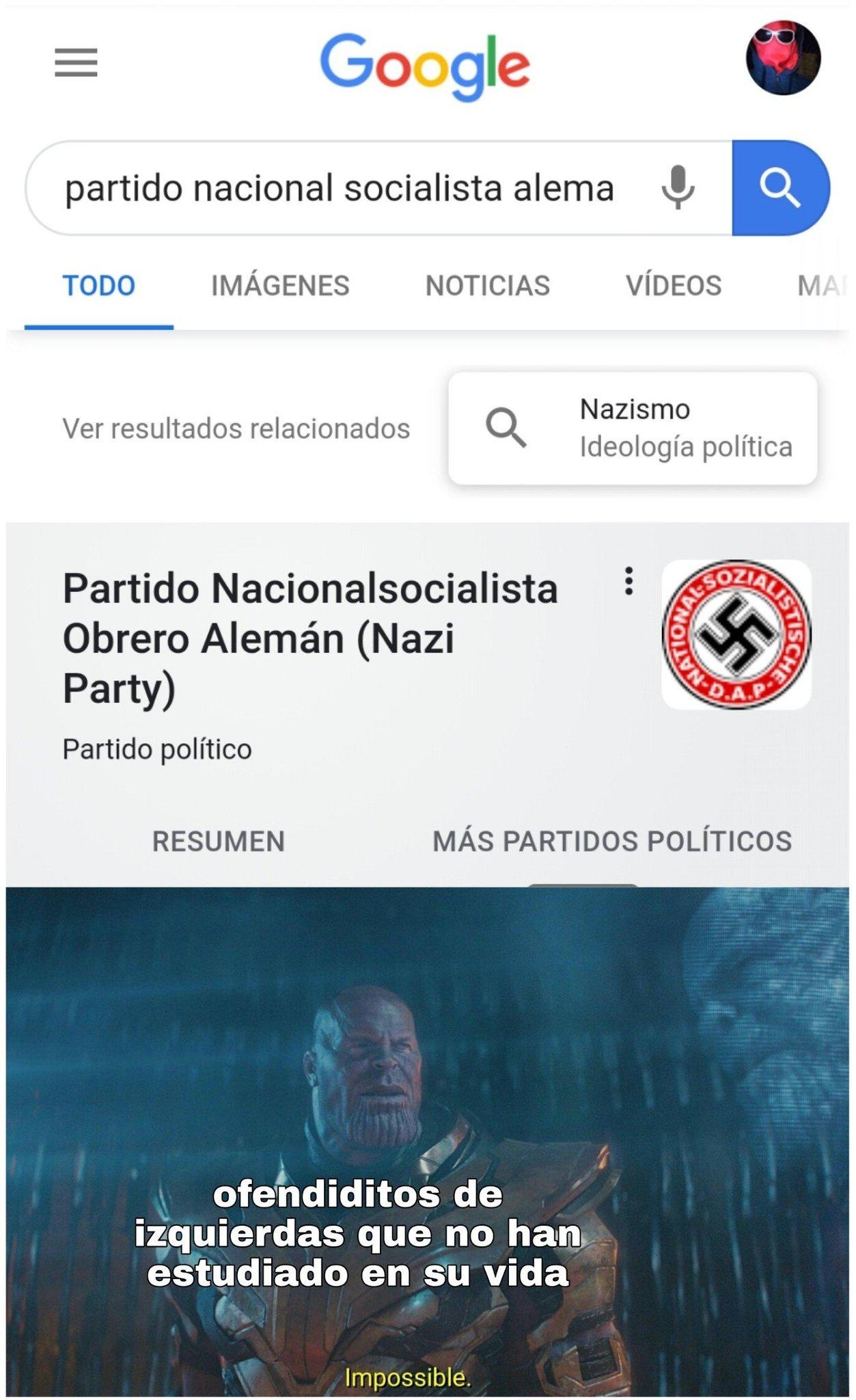 La dignidad de izquierda actual es como paraguay - meme