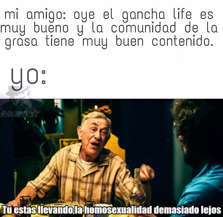 ya no es mi amigo ._. - meme