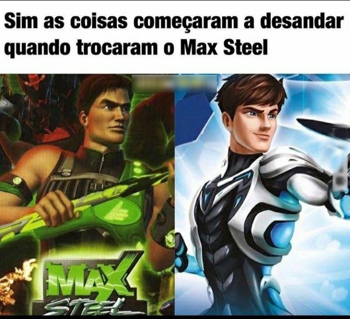 Tinha dvd's do max era um grafico ruim mas era bom - meme