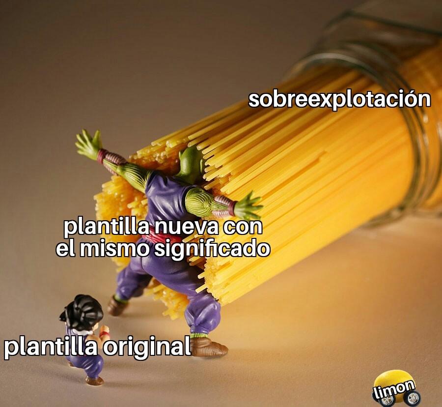Plantilla vieja - meme