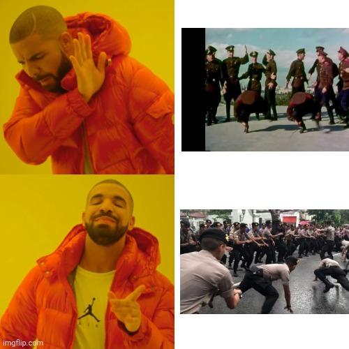 Indonesia police belike - meme