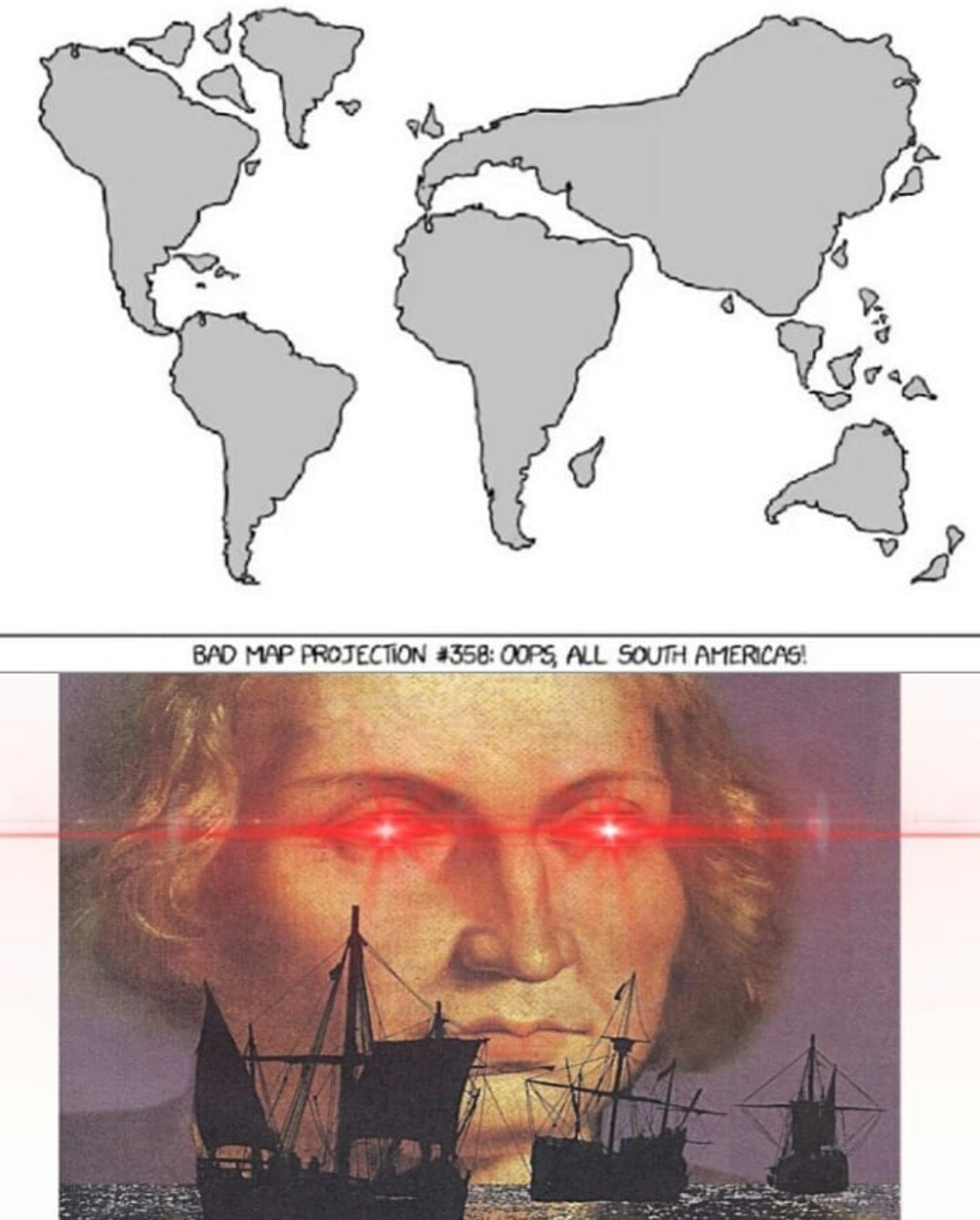 colonization intensifies - meme