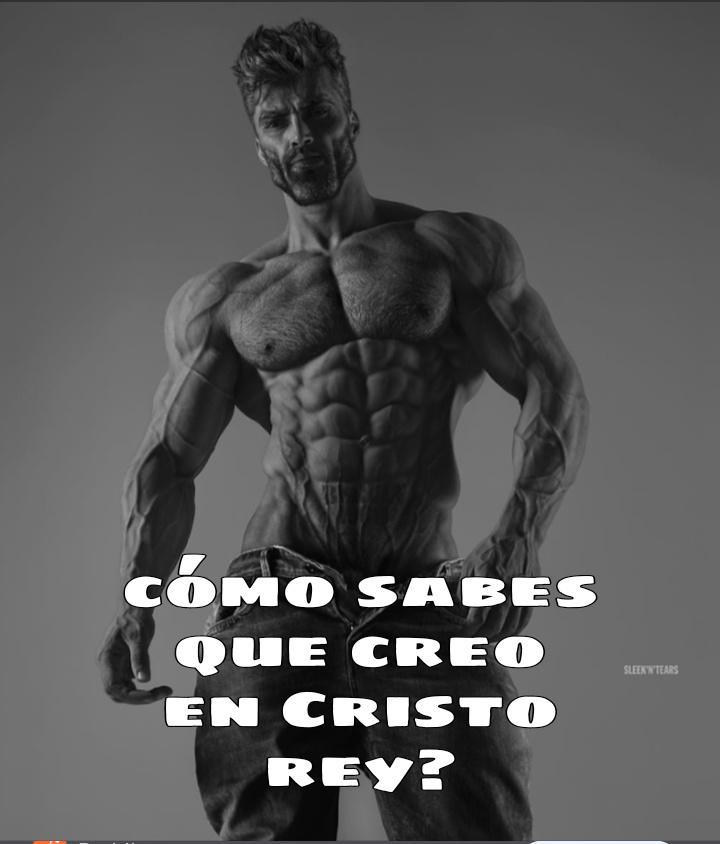 Viva cristo rey :son: - meme