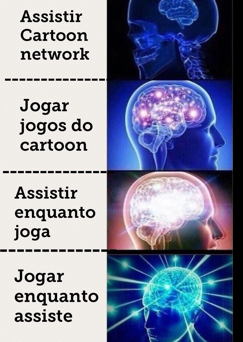 Só no Cartoon Network - meme