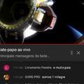 Live da NASA e encontro essa pérola