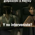 Golpeando a Ashley