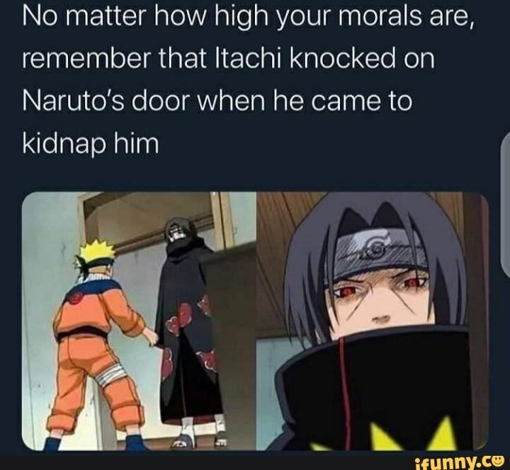 High Morals - meme
