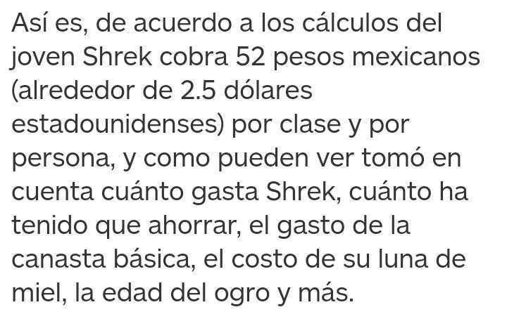 Banda, al fin sabemos cuanto cobra Shrek los jueves :really: - meme