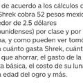 Banda, al fin sabemos cuanto cobra Shrek los jueves :really: