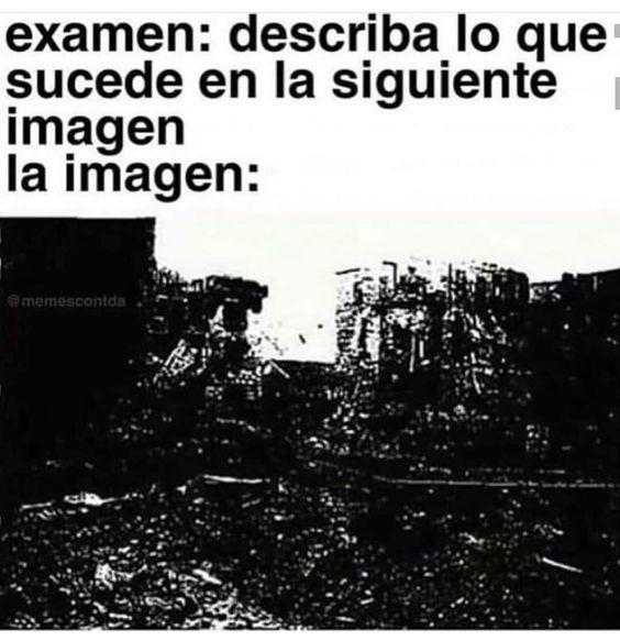 examen be like - meme