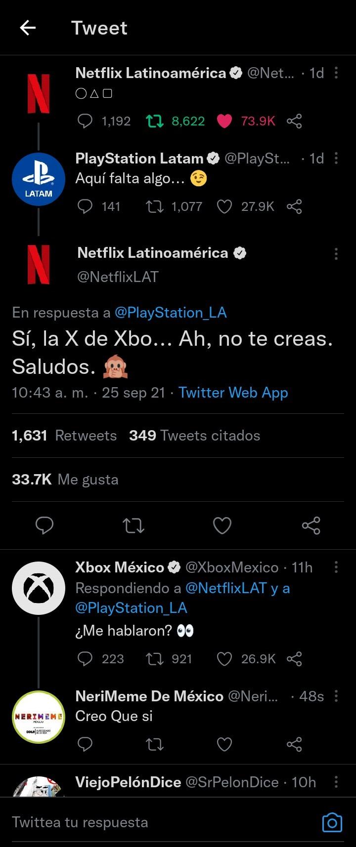 Vaya Trolleo Que Puse A Xbox México - meme