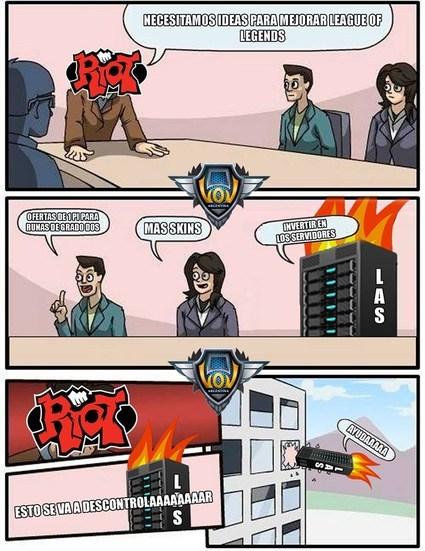 Riot pls - meme