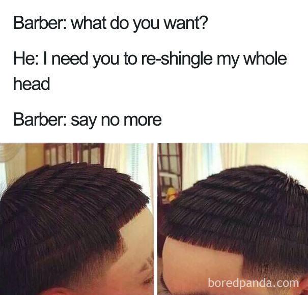 Nice haircut - meme