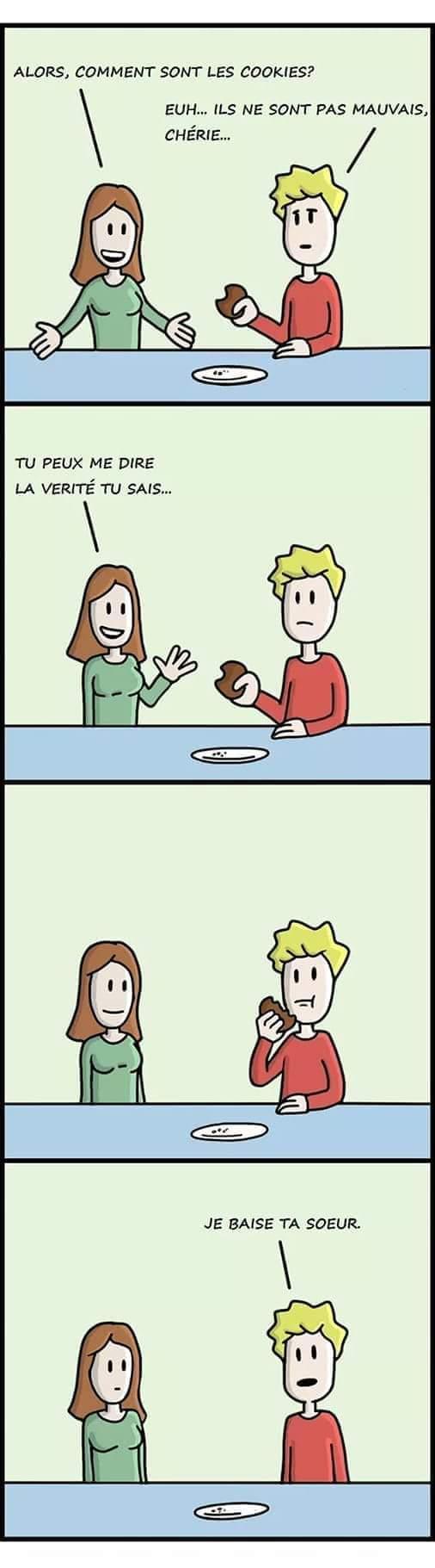 Je préfère les muffins - meme