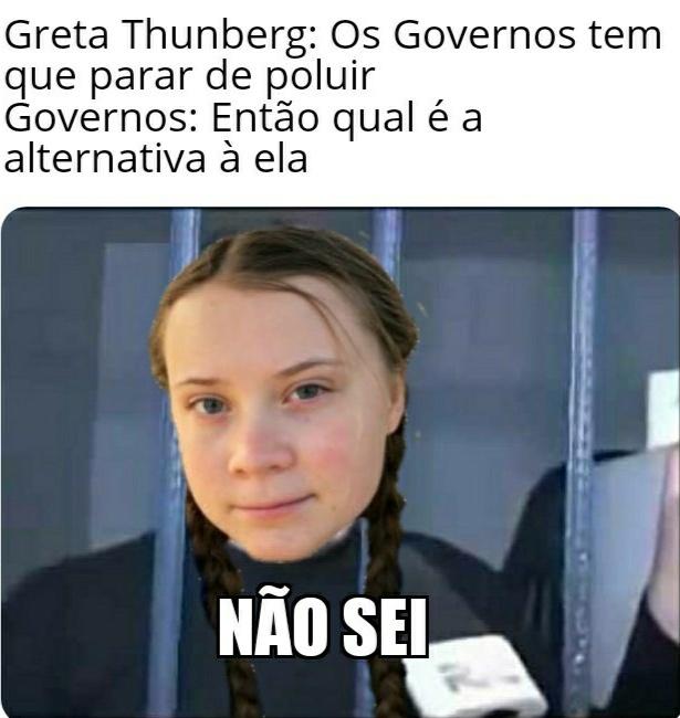 Greta Thunberg autista - meme