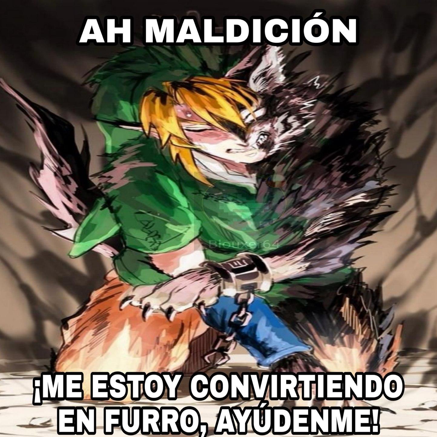 Link Furro - meme