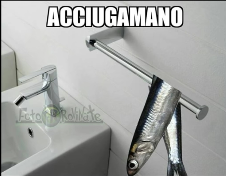 Acciugamano - meme
