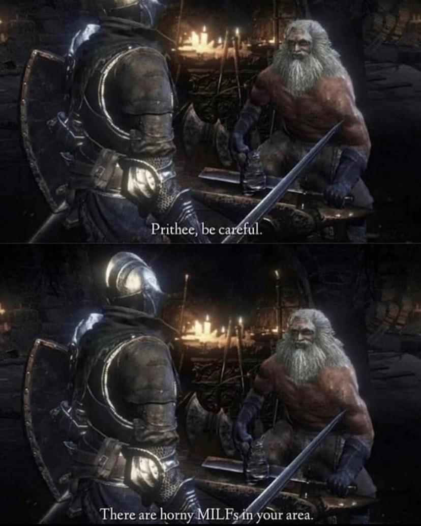 can I get titanite - meme