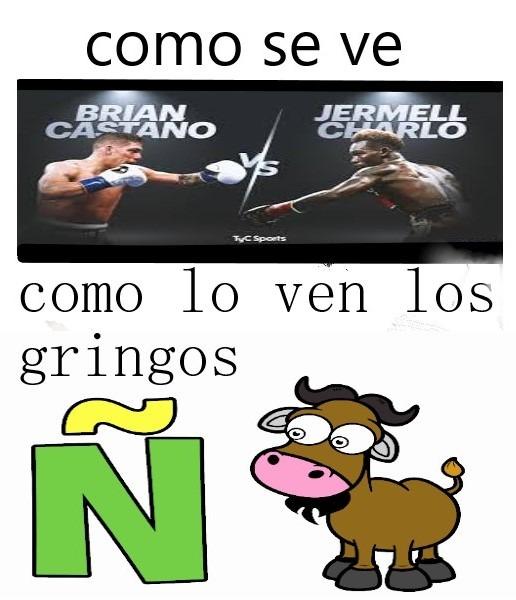 no Pongan la Ñ en el servidor yanqui - meme