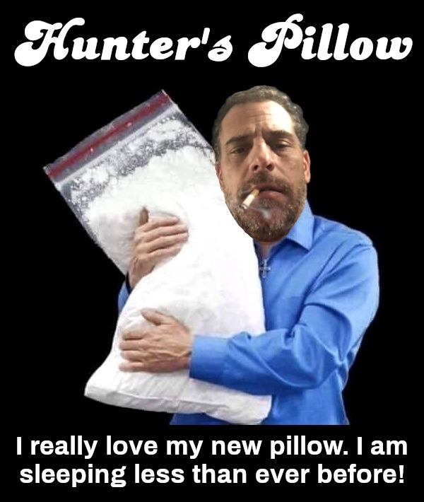 Hunter's Pillow - meme