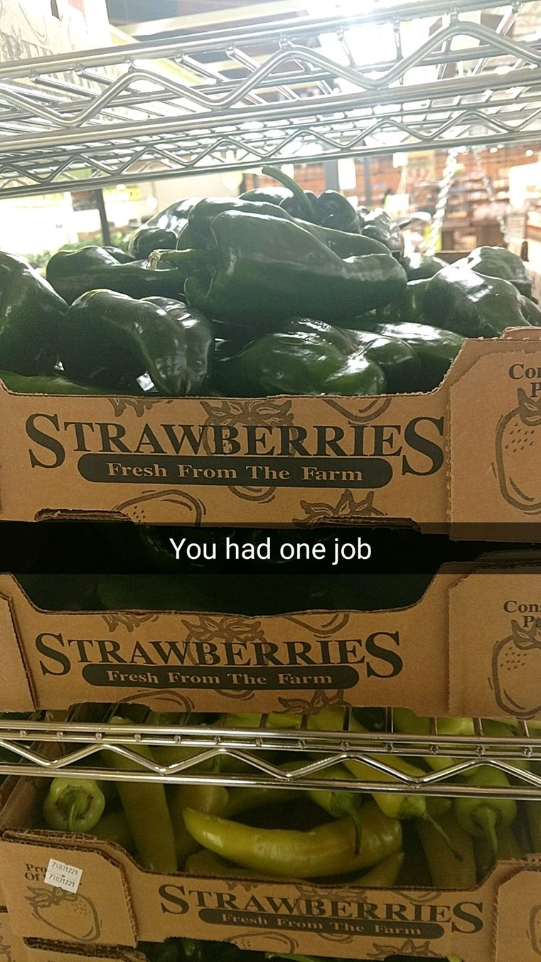 Strawberries sure have changed since I last ate one - meme