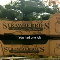 Strawberries sure have changed since I last ate one