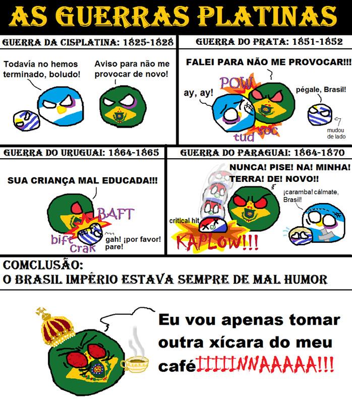 Brasil Império Modafoca Overpower - meme