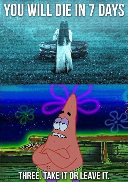 PATRICK! SHUT UP! - meme