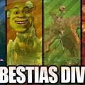Las cuatro Bestias Divinas