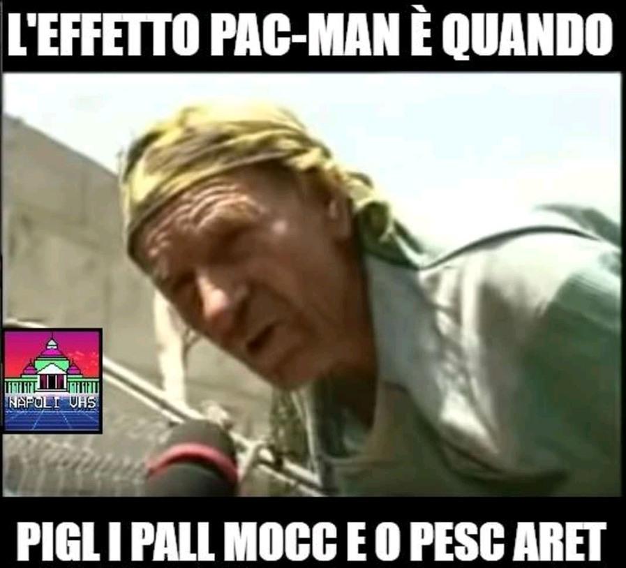 L'effetto Pac-Man - meme