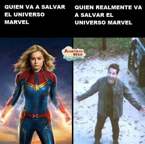 El verdadero héroe de Avengers Endgame - meme