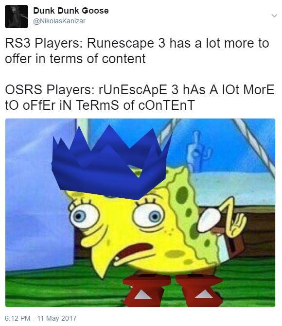 Rs3 sucks. Microtransactions - meme
