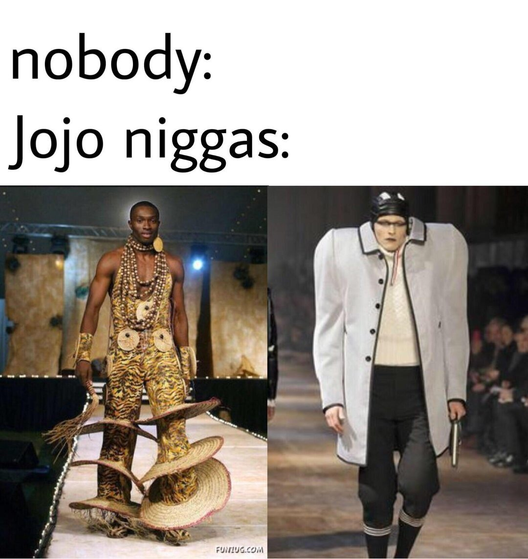 Fun fact Araki worked with Gucci - meme