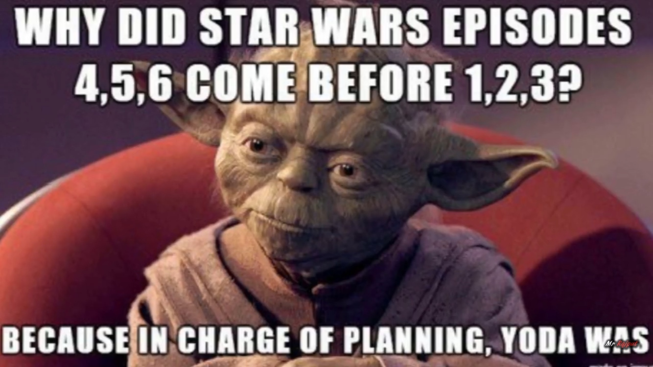 in charge of planning yoda was - meme