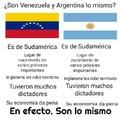 Pero Venezuela es mejor.