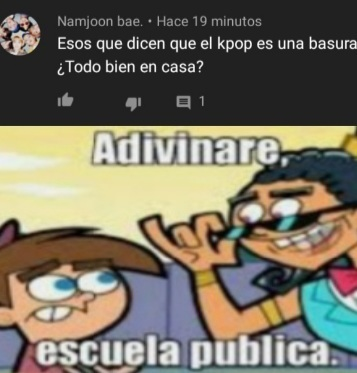 El video es del rubius funado por kpopers - meme