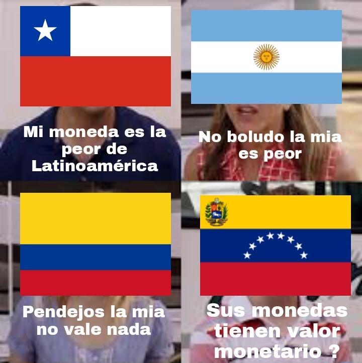 El bolivar solo sirve para limpiarse el culo - meme